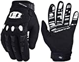 Seibertron Dirtpaw Unisex rutschfeste Bike Bicycle Cycling/Radsport Racing Mountainbike Handschuhe für BMX MX ATV MTB Motorcycle Motocross Motorbike Road Off-Road Race Touch Screen Gloves Black XL