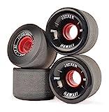 JUCKER HAWAII Longboard Rollen/Wheels STREETBALLS - Foam Balls Black